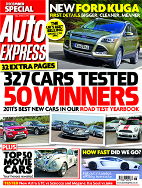 6 virtually free issues of Auto Express + free 26 piece toolkit
